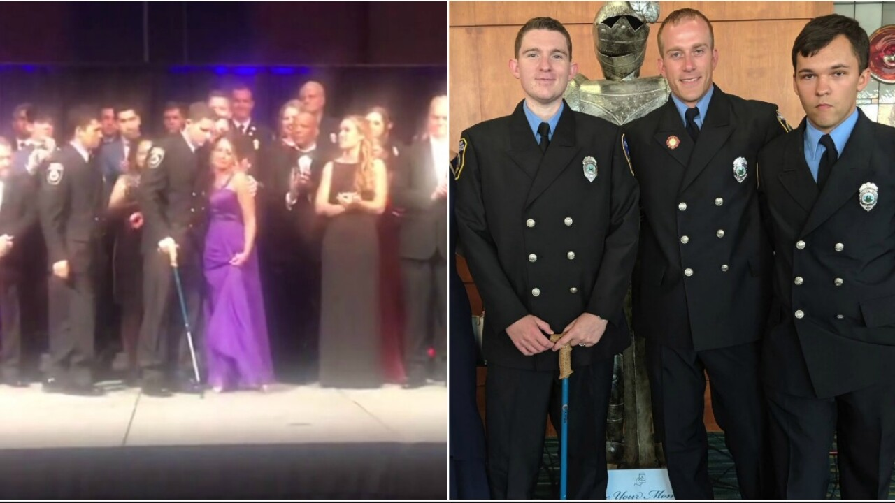 Shining Knight gala honors medical teams that saved Hanover firefighters