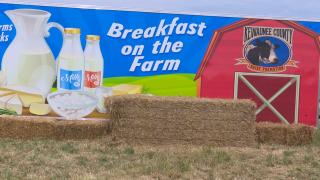 'Breakfast on the Farm' in Kewaunee County
