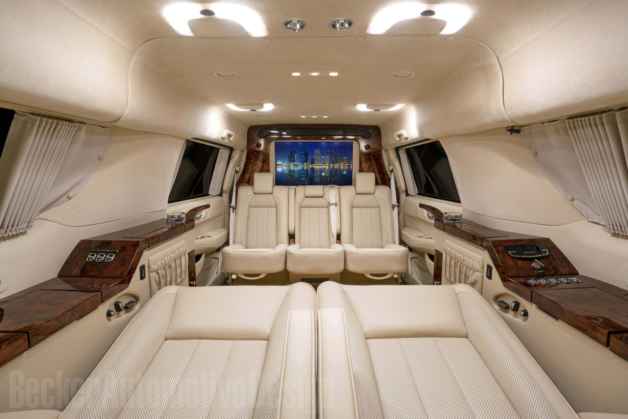 Tom Brady Cadillac Escalade interior