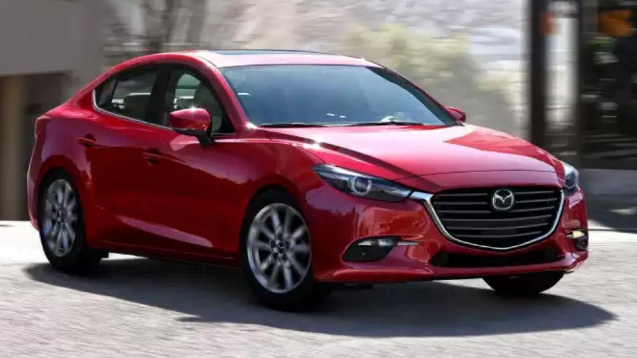 2018 Mazda 3 sedan