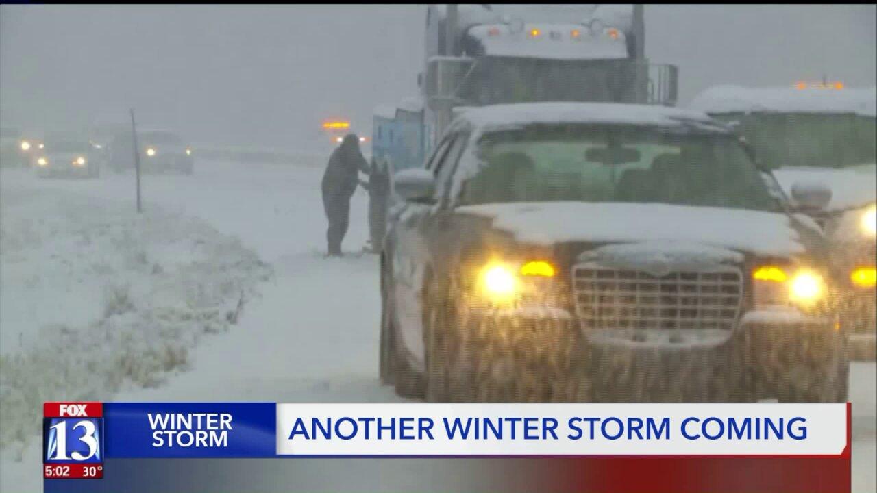 Utahns adjust Thanksgiving travel plans ahead of snowstorm