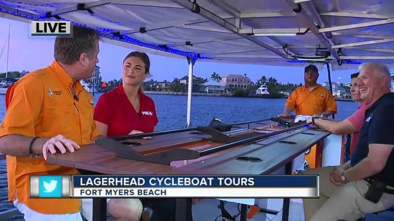 Lagerhead Cycleboat Tours in Fort Myers Beach
