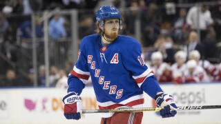 Red Wings get second round pick from Rangers to take on Marc Staal's contract