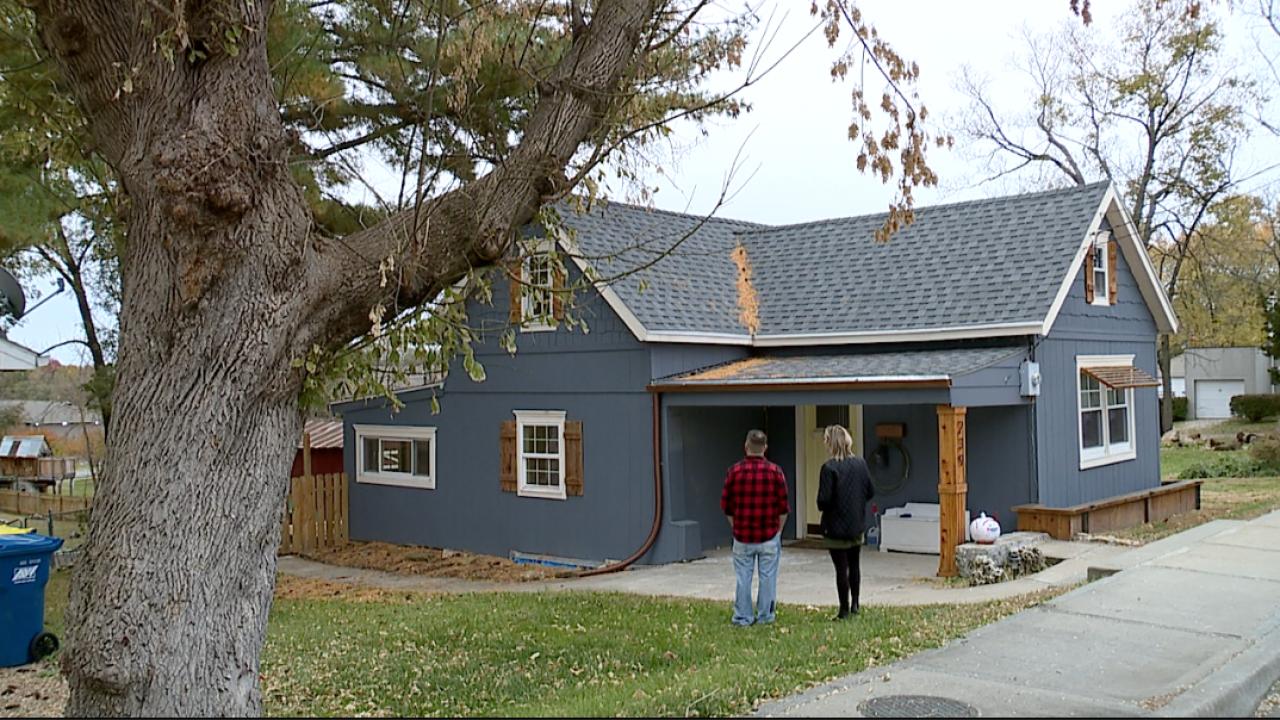 David Hindle's house