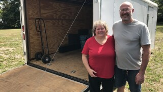 Hurricane help: MI couple sends supplies down south after Harvey, Irma
