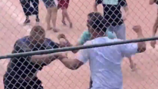 VIDEO: Fight breaks out between parents during youth baseball game in Colorado