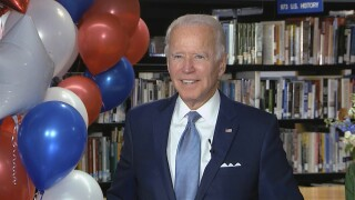 Biden takes a swipe at Trump campaign with social media post