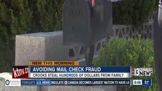 How to avoid mail thieves cashing checks