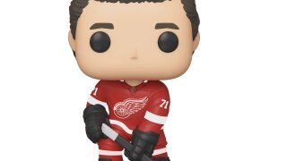 Red Wings center Dylan Larkin gets the Pop! figure treatment in new NHL line from Funko