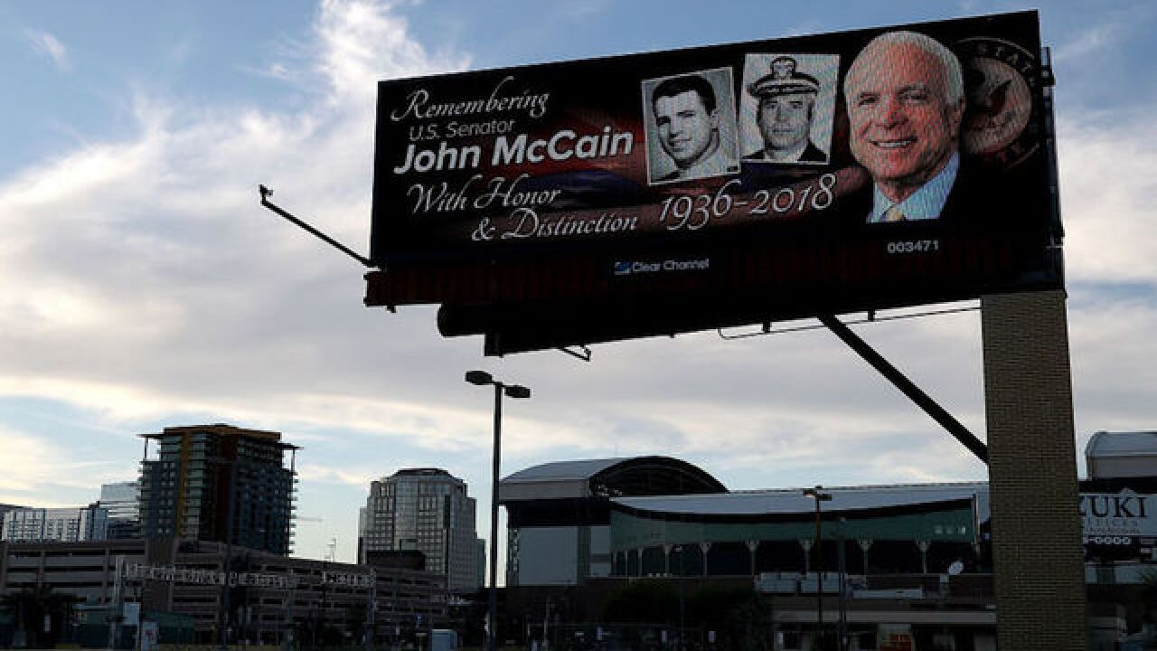 NATO considering naming its HQ building in honor of McCain