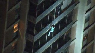 The man who scaled a 19-story building like Spider-Man did it to save his bedridden mother
