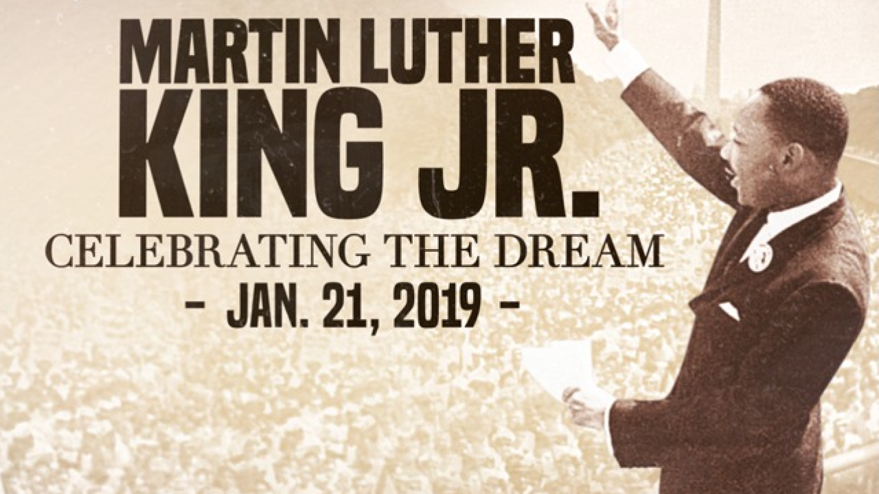 Local Events Planned For Martin Luther King Jr Day