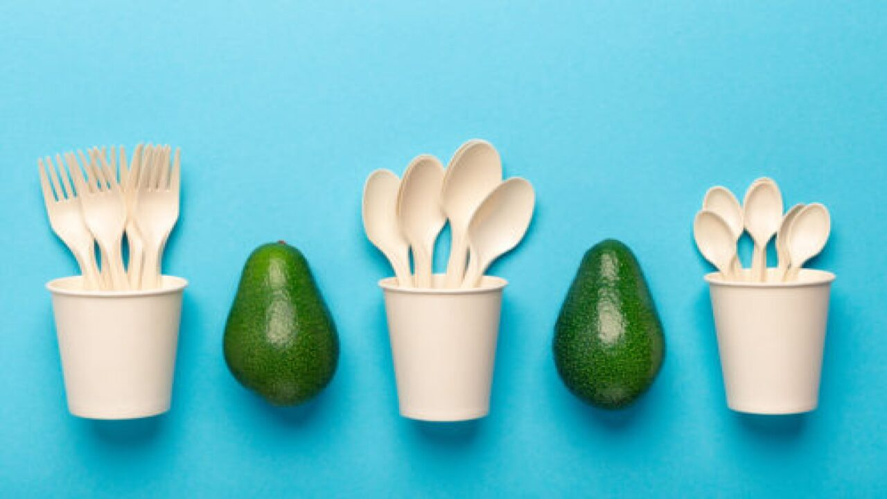 New Disposable Cutlery And Straws Are Made From Avocado Pits
