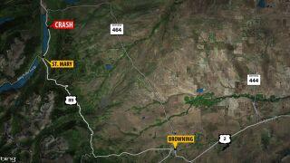 Injury crash reported in Glacier County