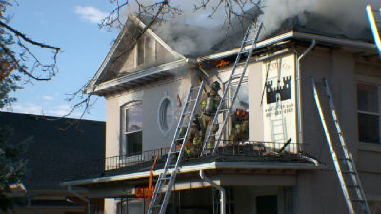 Future downtown halfway house destroyed in fire