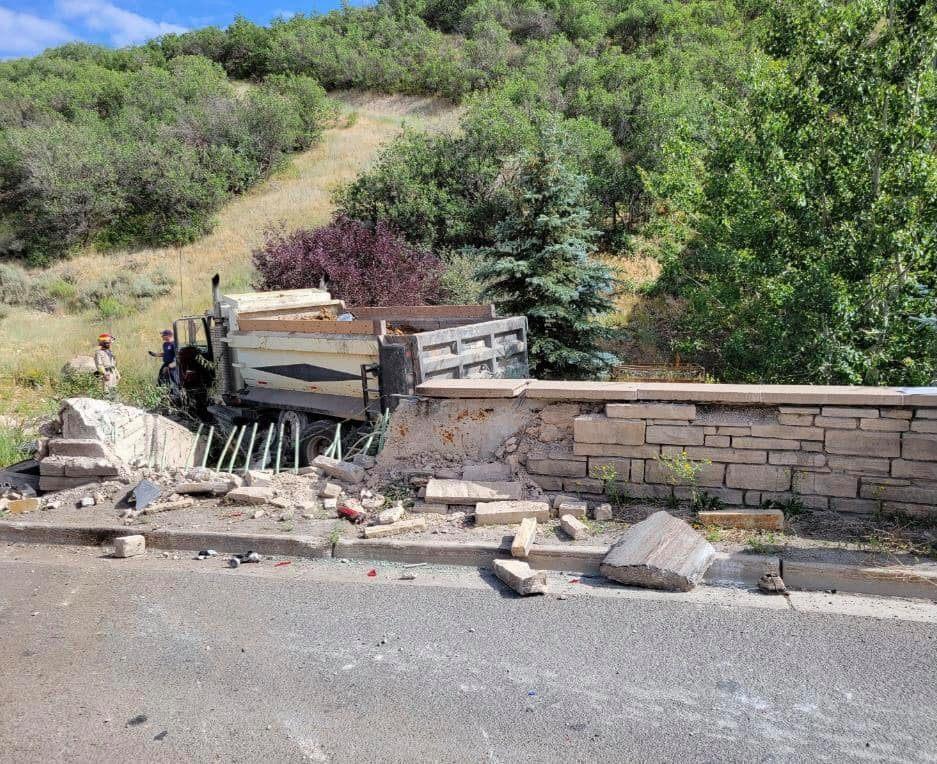Park City Dump Truck accident