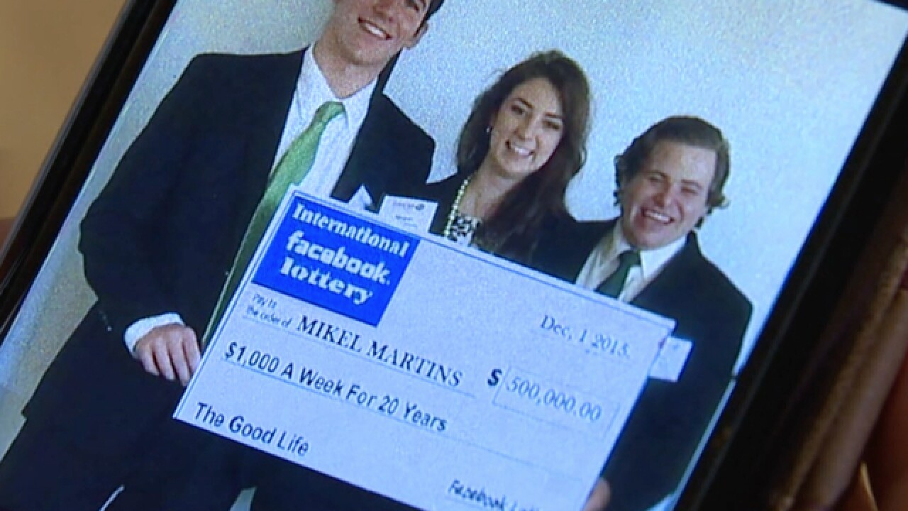 Local victims hit by social media lottery scam