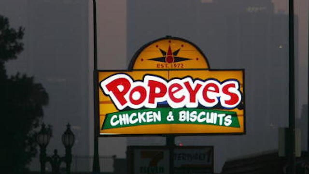 Popeyes chicken brand bought by Burger King, Tim Hortons parent company
