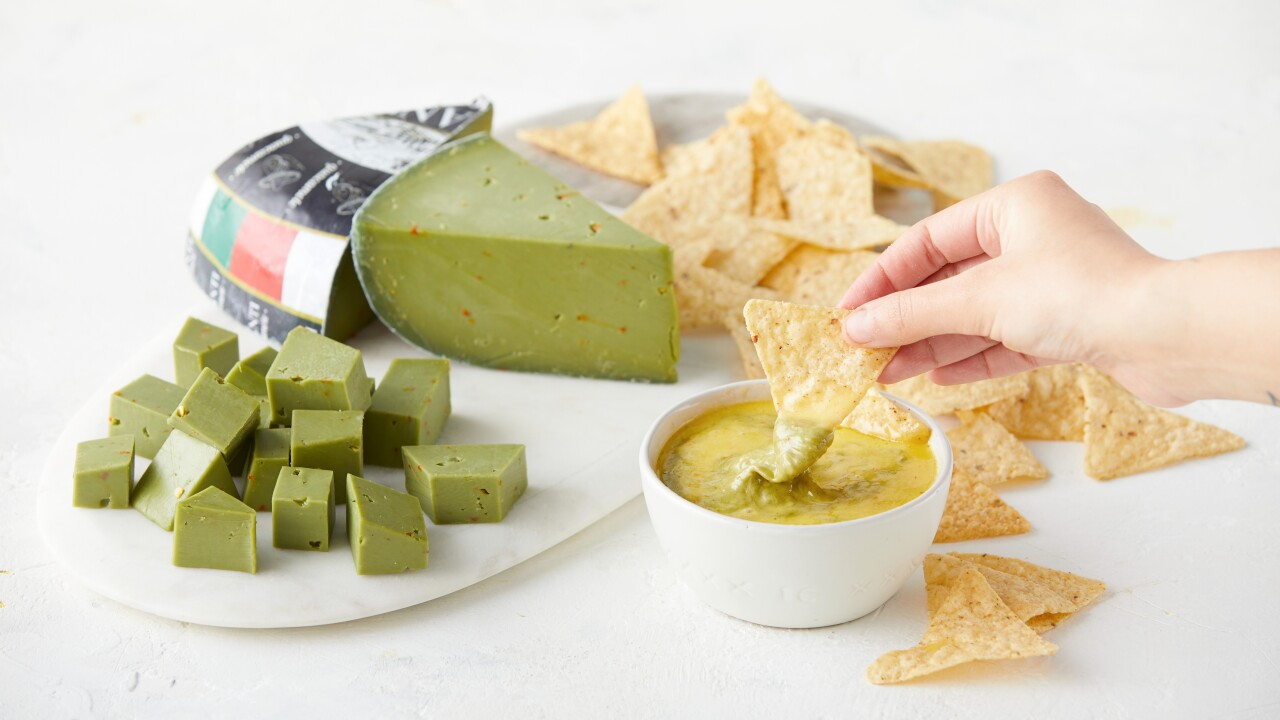 Guacamole cheese has arrived just in time for Cinco de Mayo