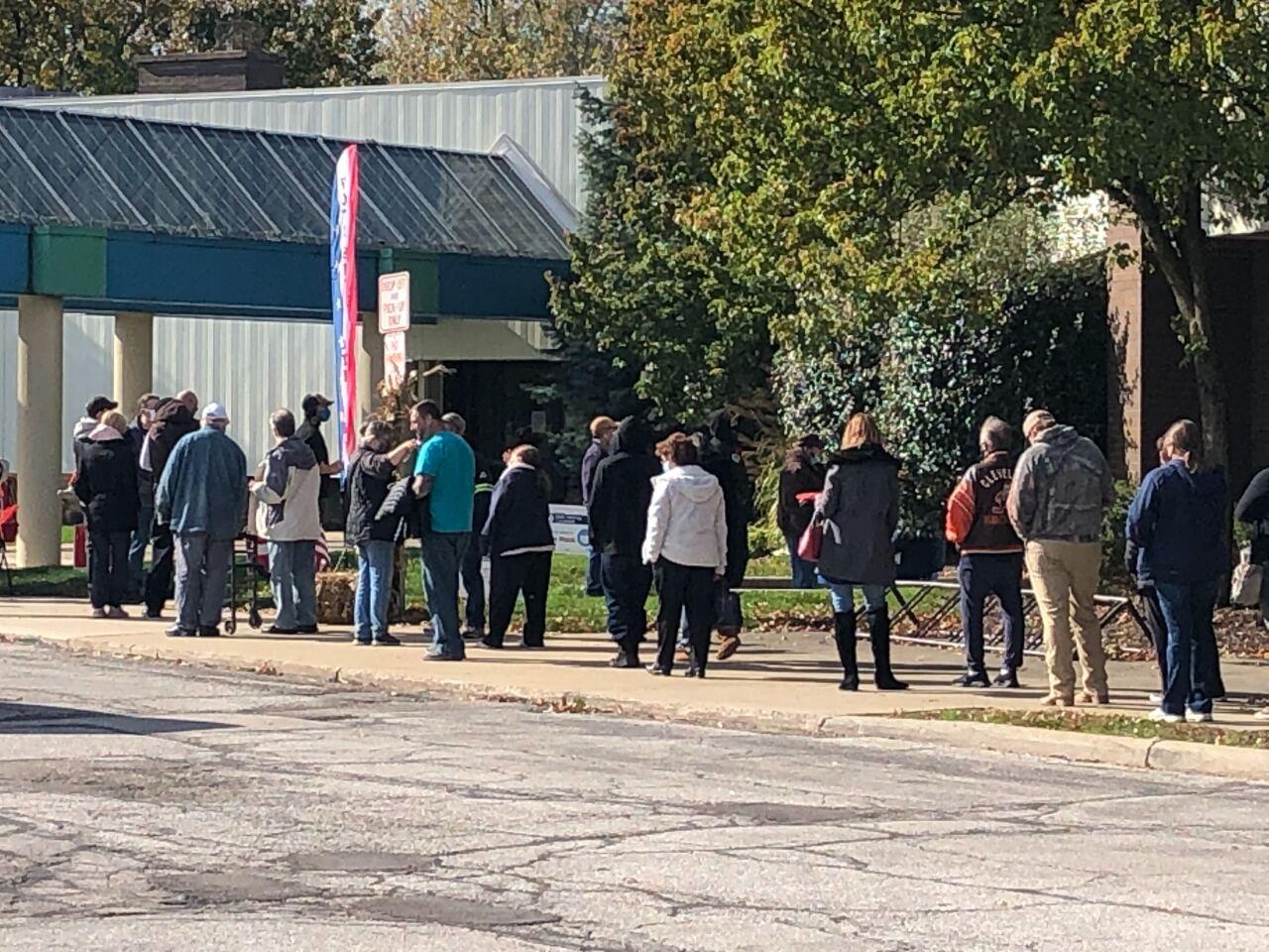 Brook Park Rec Center voting