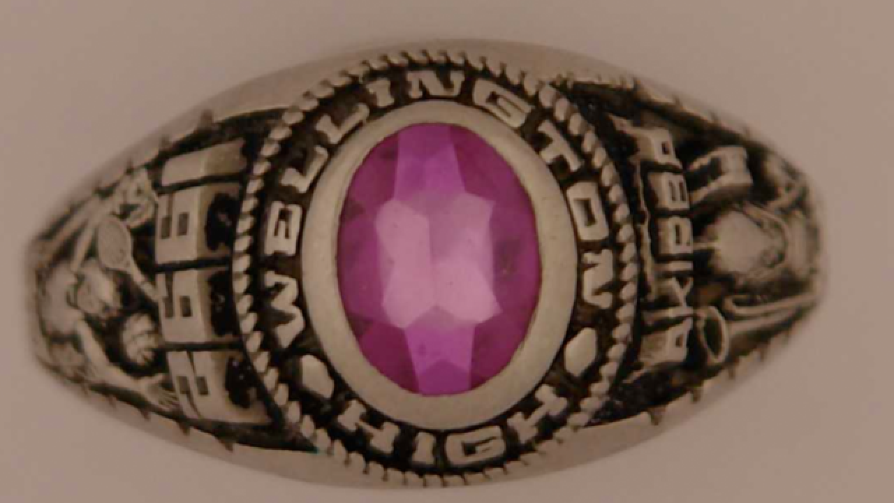 Police locate owner of missing Wellington class ring
