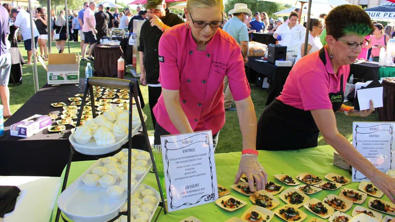 Meet the Chefs event at Casino Del Sol