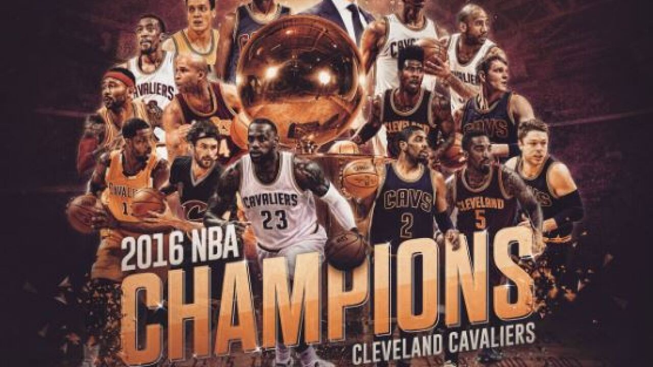 Cleveland Becomes First Team To Overcome 3 1 Deficit To Win Nba Championship