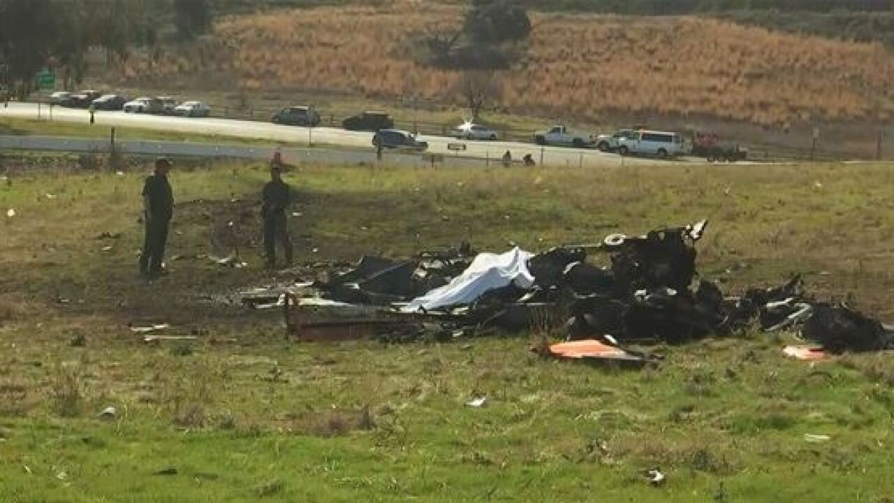 LA plane crash