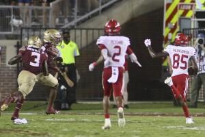 Jacksonville State Gamecocks receiver Damond Philyaw-Johnson scores game-winning TD at Florida State Seminoles in 2021