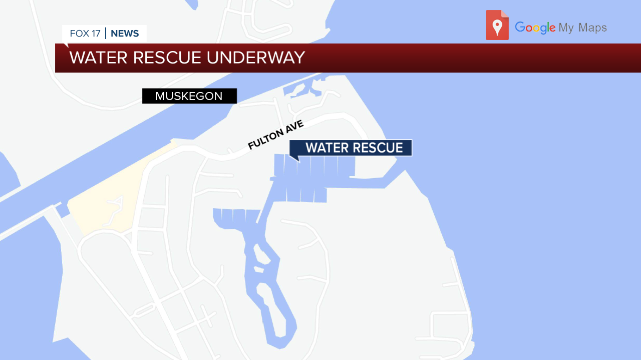 Water rescue underway MAP.png