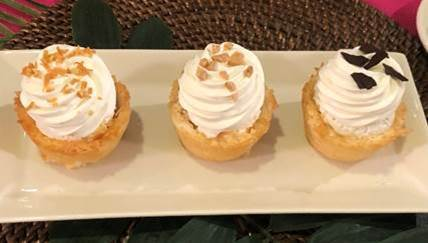 Coconut Macaroon Cheesecake Cups at The Cheesecake Factory