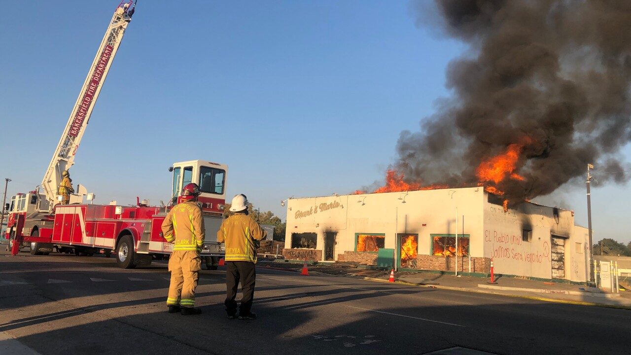 Amestoy's Building Fire