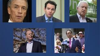 Doug Ose, Kevin Kiley, John Cox, Kevin Faulconer, Larry Elder