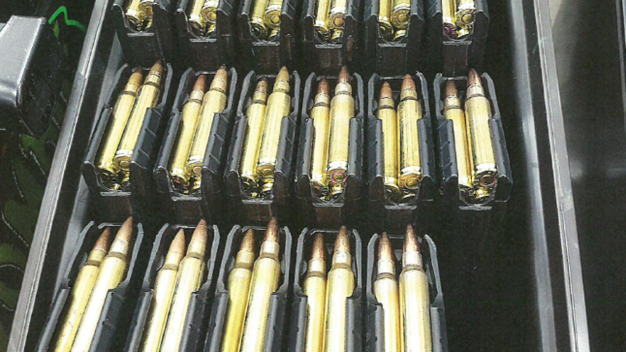 Ammunition at King's Home