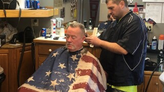 Frustrated barber