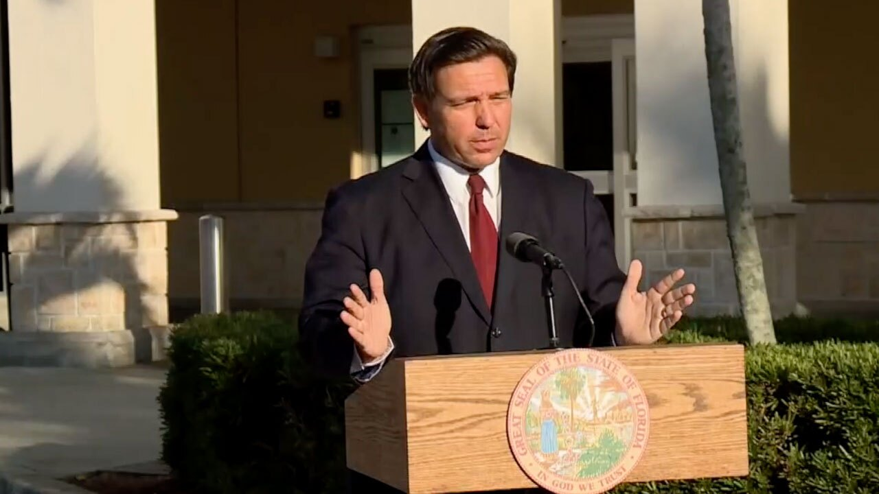 Gov. Ron DeSantis announces Jan. 19, 2021, that all Publix pharmacies in Palm Beach County will distribution COVID-19 vaccines