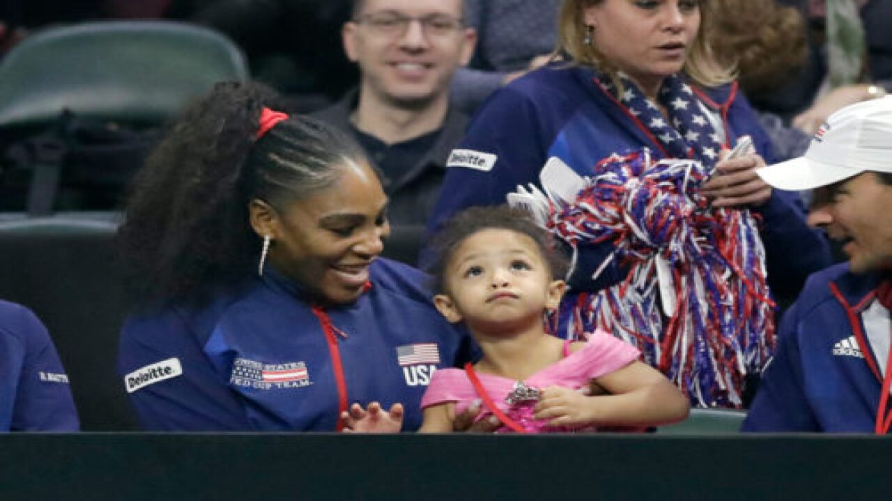 Serena Williams And Daughter Olympia Pose Together In New Fashion Campaign