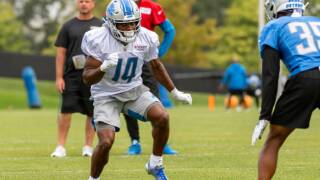 Tommylee Lewis among 12 roster cuts announced by Lions