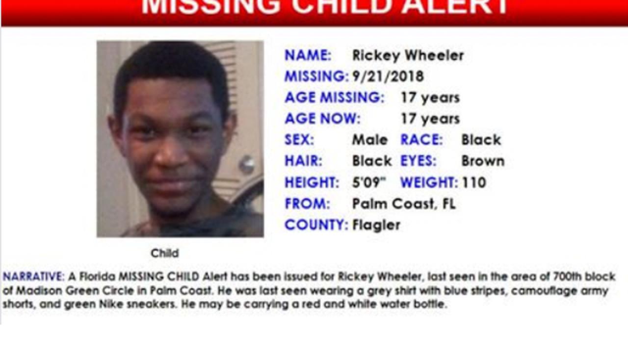 Missing Palm Coast teen found safe