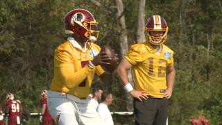 'Skins scoop: Colt McCoy and Dwayne Haskins battle for starting quarterback job, Case Keenum deals withinjury