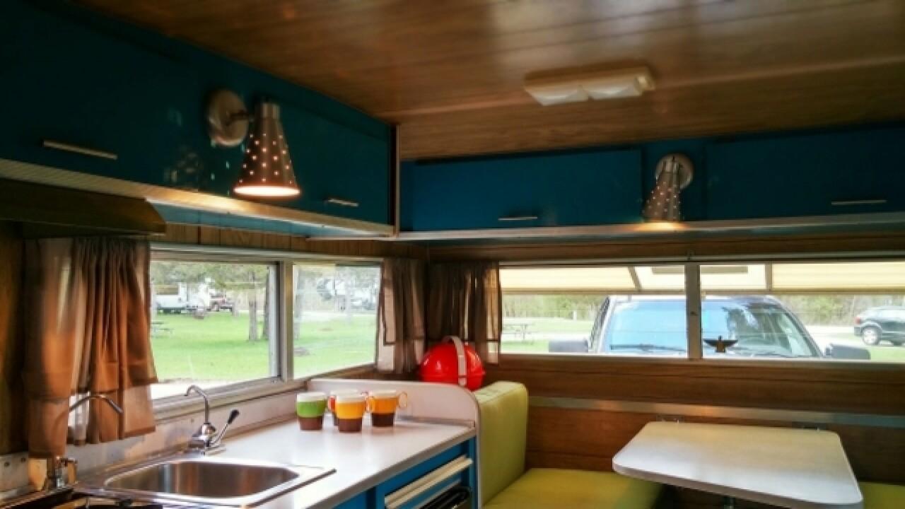 Peek inside these vintage campers