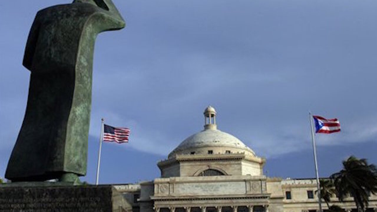 Congress approves debt relief package for Puerto Rico