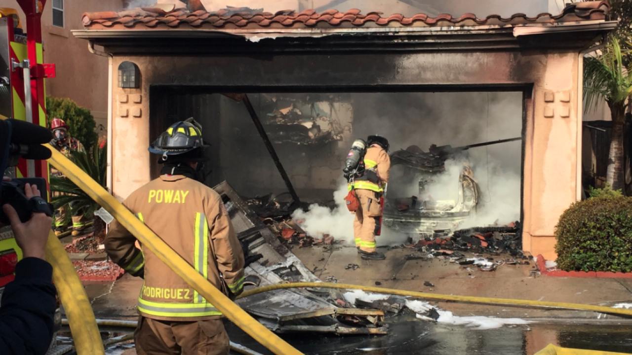 Scripps Ranch house fire