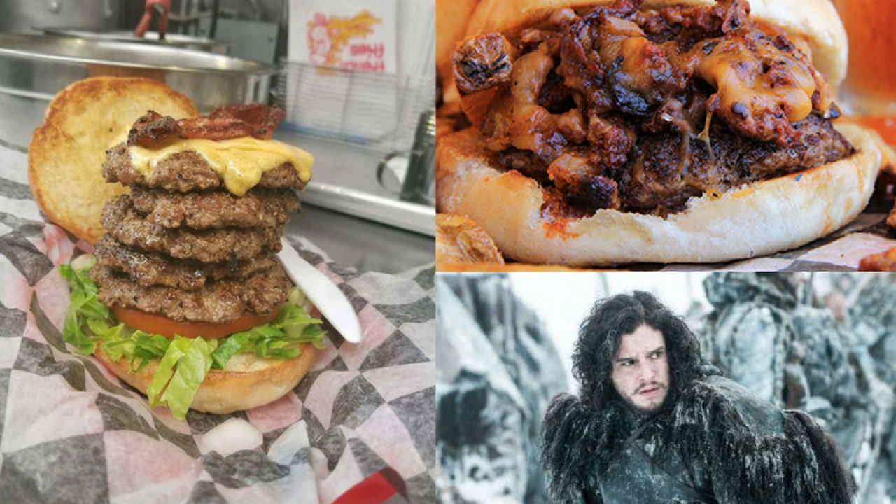 Local restaurant offers 'Game of Thrones' inspired burgers