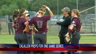 Calallen softball ready to thrive in pressure-packed one-game playoff series against Seguin