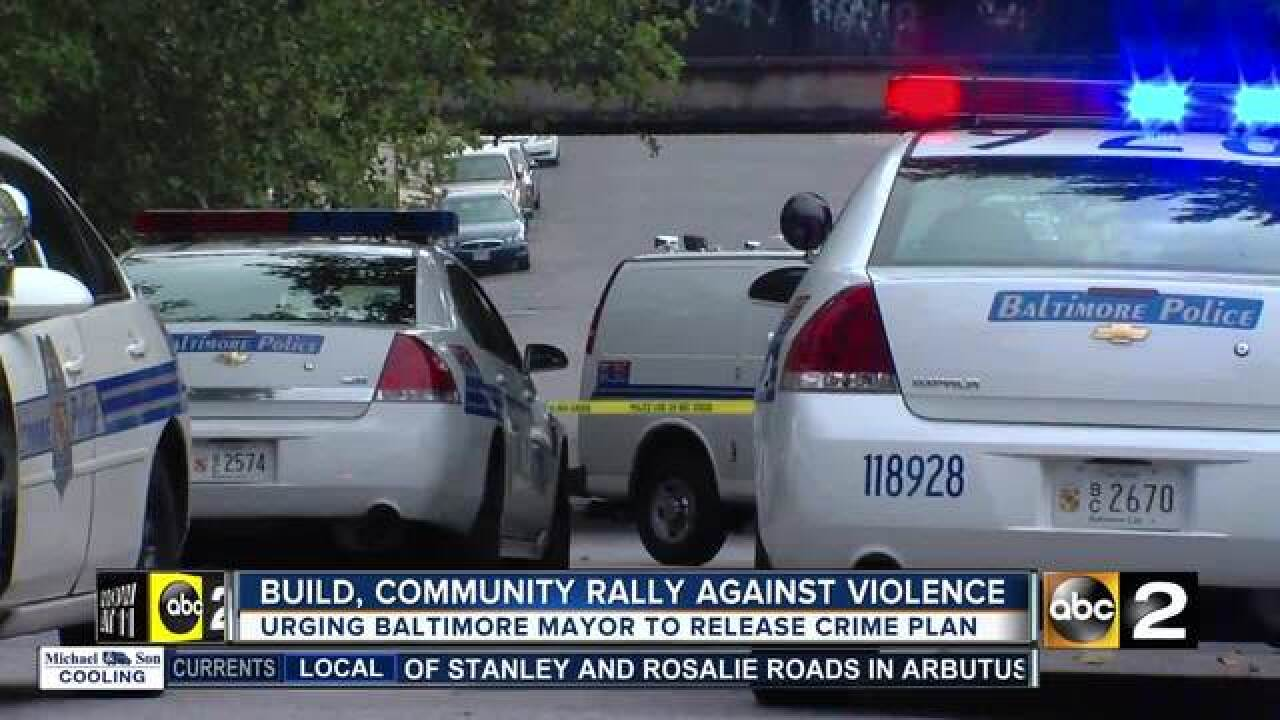BUILD rallies with community against violence