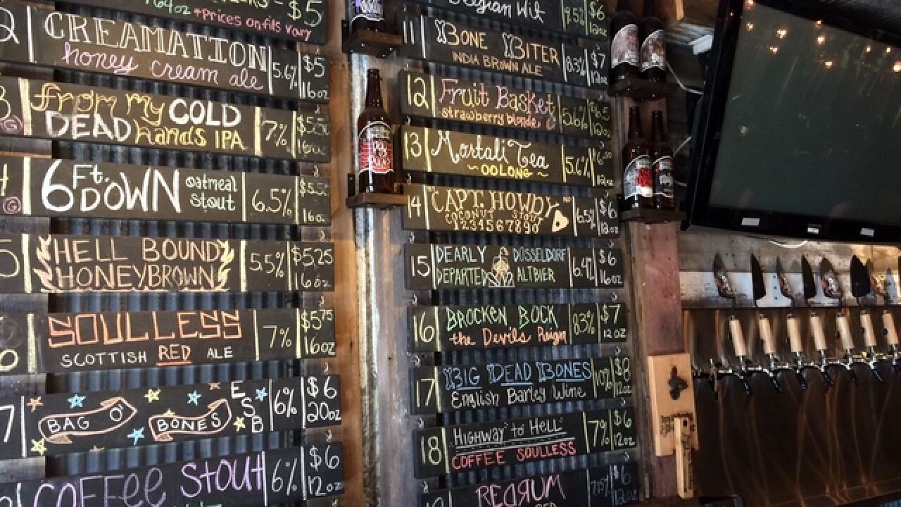 Craft Beer Thrives at Bury Me Brewing