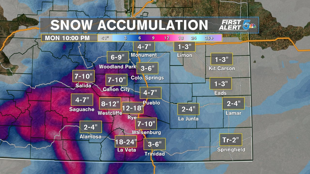 Snowfall Accumulation Forecast