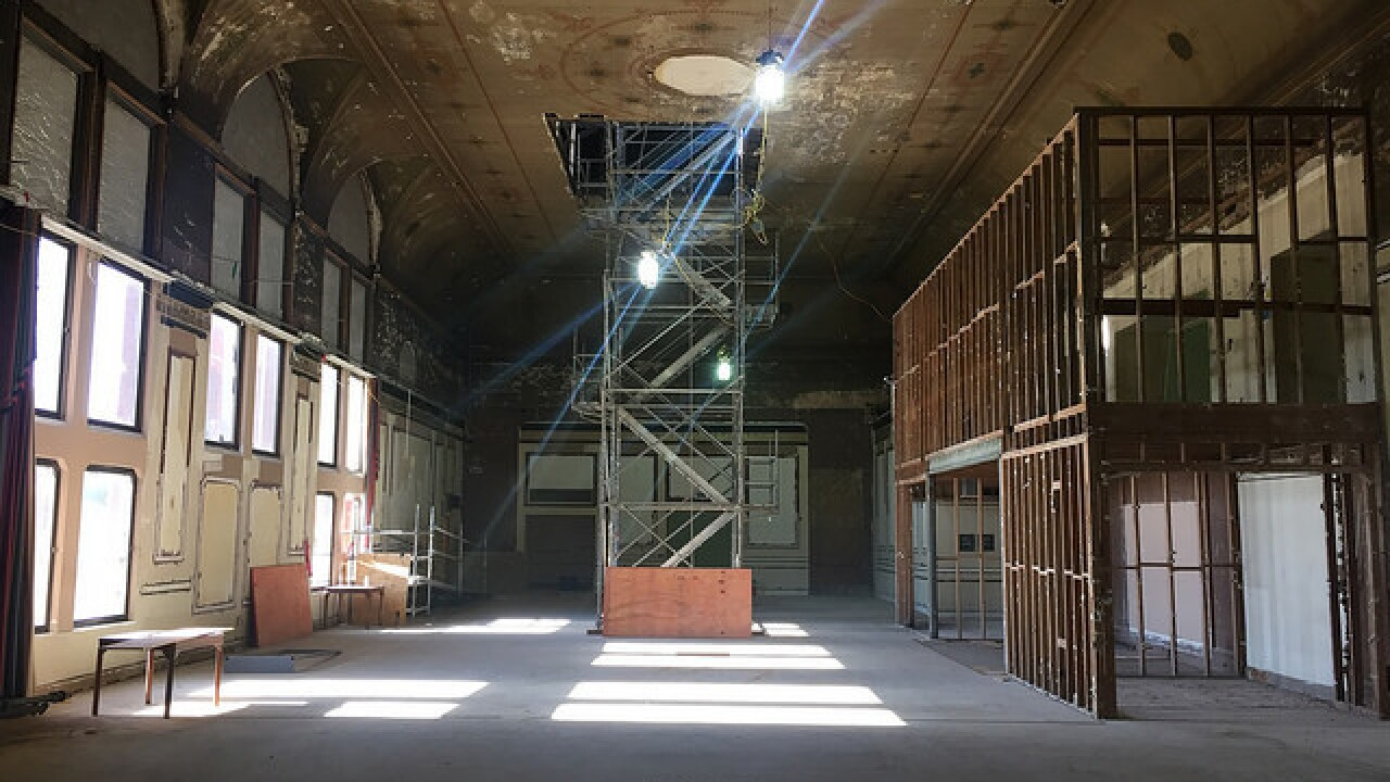 EXCLUSIVE: See Music Hall's hidden treaures