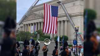 Alice HS band marches in 'National Memorial Day Parade' in Washington DC